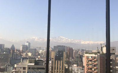 Como funciona o restaurante Giratório em Santiago?